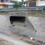 Santa Cruz drainage canal - home of the street children