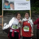 Juliet and Sophie 10k run