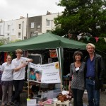 Kingsdown Homegrown stall 2012