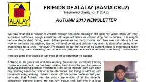 autumn 2013 newsletter image