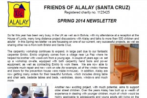 spring 2014 newsletter picture