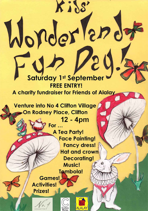 Wonderland Fun Day Poster