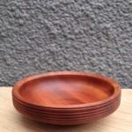 Handcarved wooden bowl